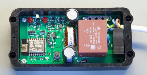 ESP8266 mains energy monitor