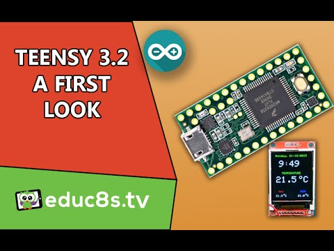 Teensy 3.2: A first look at the powerful Arduino compatible board