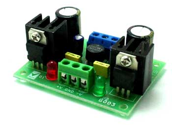 5V Symmetrical Regulated Power Supply