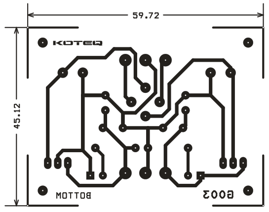 5v symmetrical regulated power supply - 1a