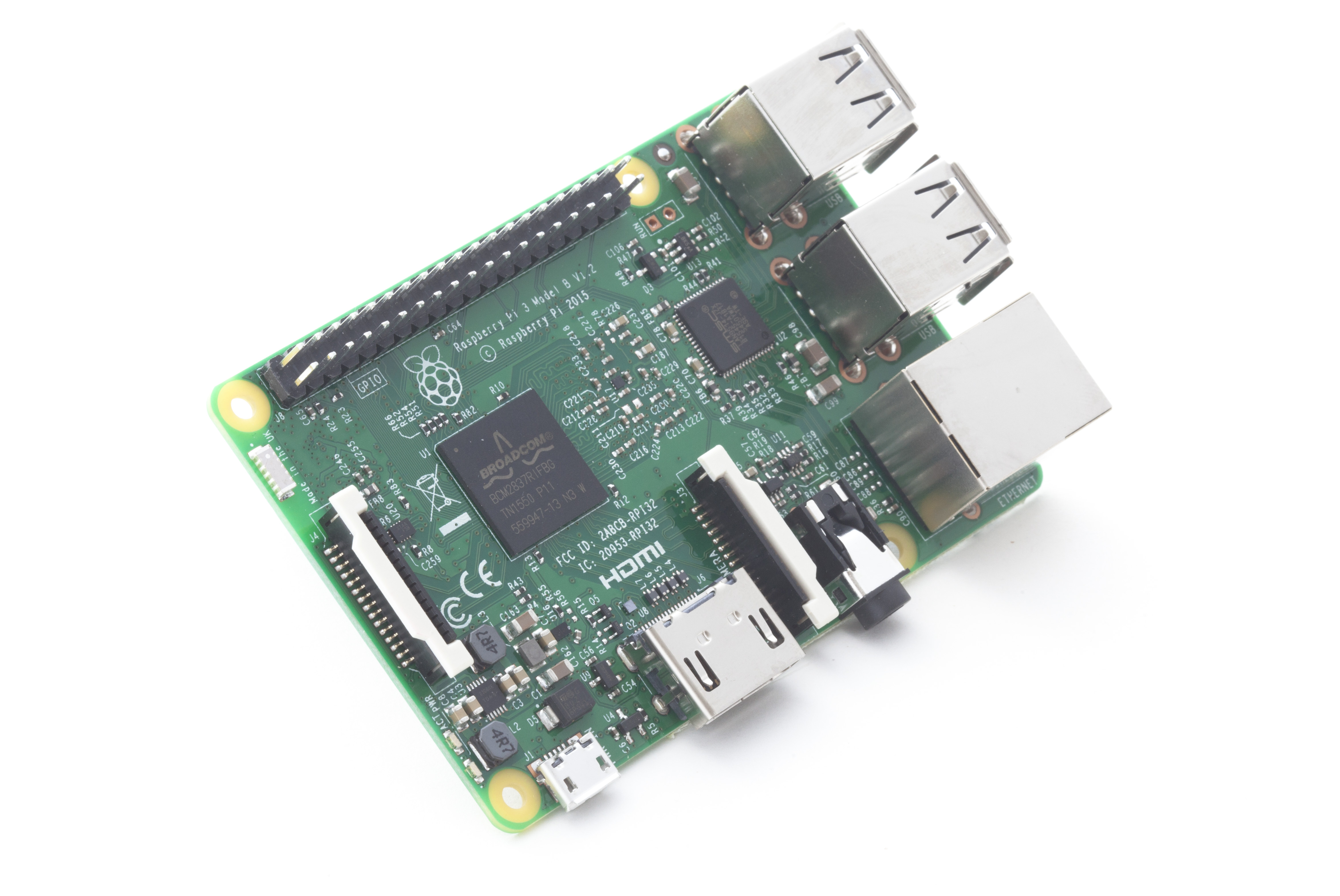Raspberry Pi 3 on sale at $35