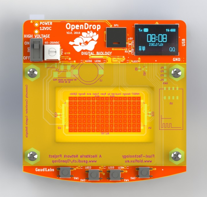 OpenDrop – Digital Microfludics Plattform