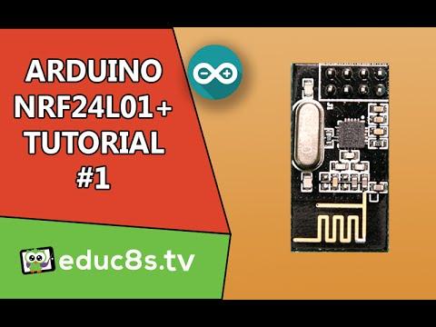 Arduino NRF24L01 Wireless Tutorial with Arduino Uno