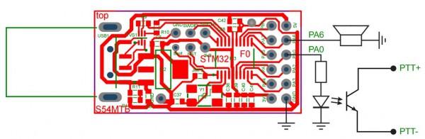 Programmable CW Morse beacon