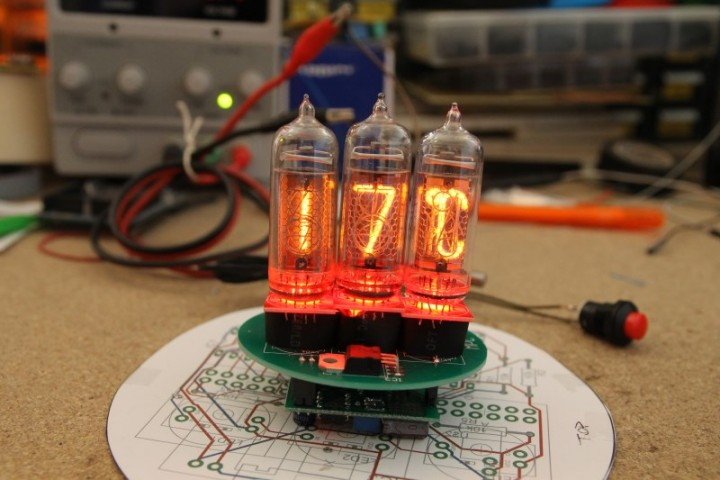 Nixie thermometer