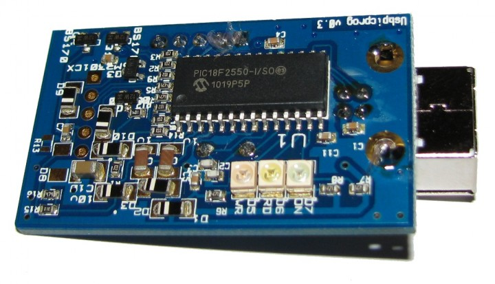 USBpicprog – a free and open source usb pic programmer