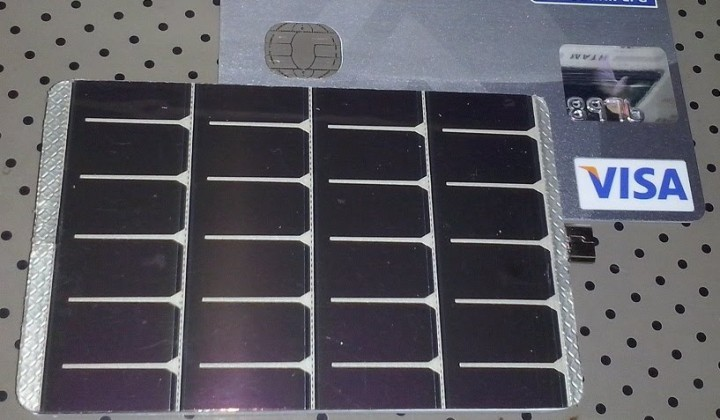 Smartphone Solar charger card