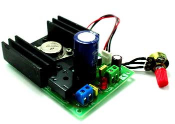 1.2V to 37V Regulated Power Supply – 1.2A