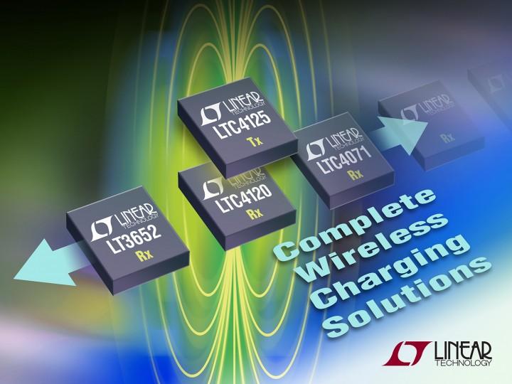 LTC4125 – 5W AutoResonant Wireless Power Transmitter