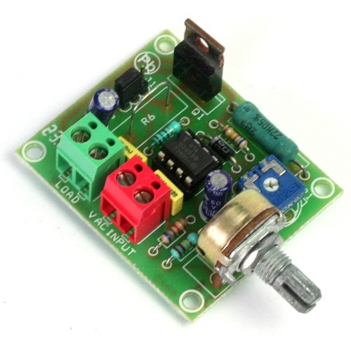 AC Motor Speed Controller using U2008B
