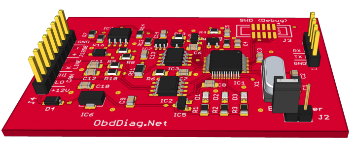 Open-source OBD adapter