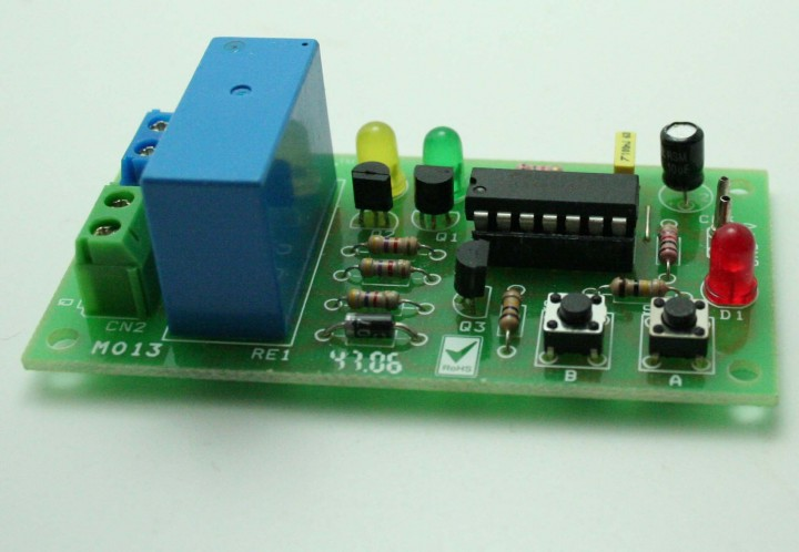 DC Motor Direction Controller with tact switches