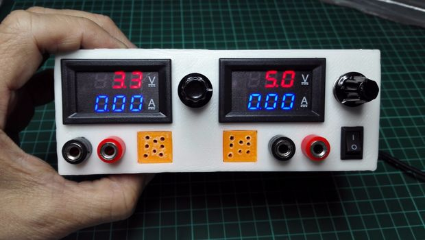 1.3V – 15.5V @ 2 Amps Power Supply