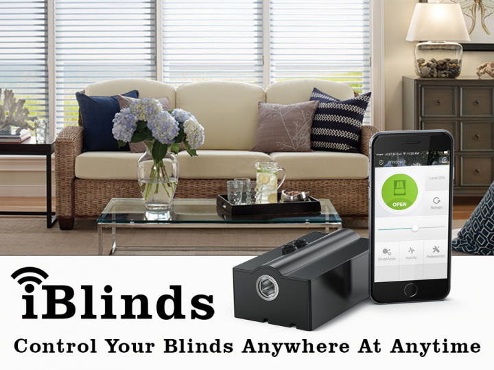 iBlinds – Make Your Existing Blinds Intelligent
