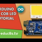 Control a High Power 4W COB LED with Arduino Uno