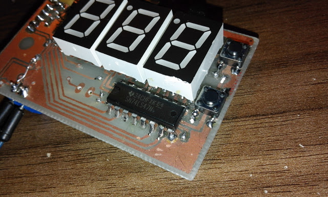 ATmega8 Thermocouple Thermostat