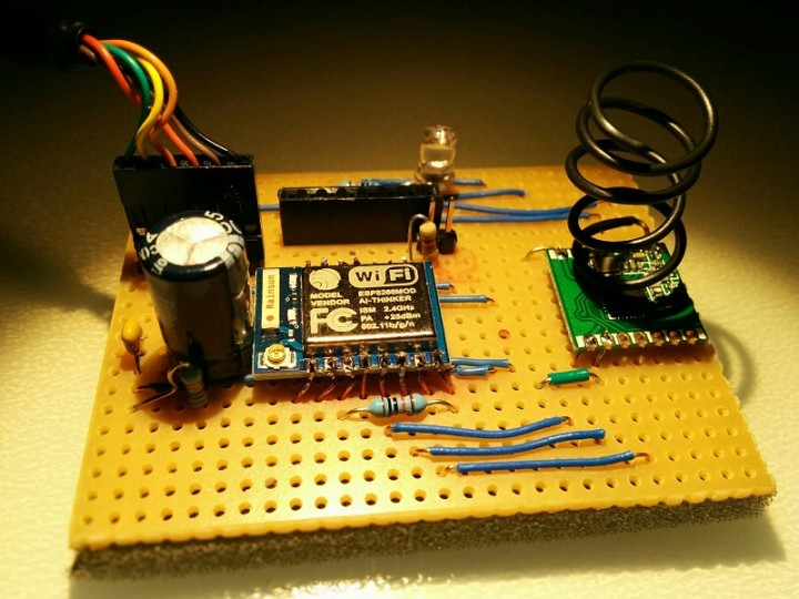 RFM69 to MQTT gateway using ESP8266