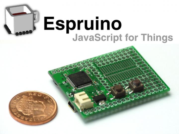 Espruino: JavaScript for Things