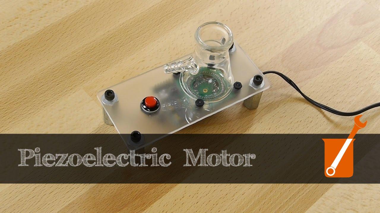 Piezoelectric motor demo