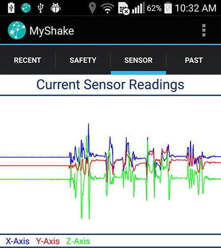 Android app turns smartphones into a seismic network