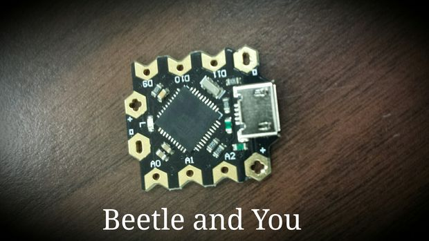 Beetle: Minimize Your Arduino Projects