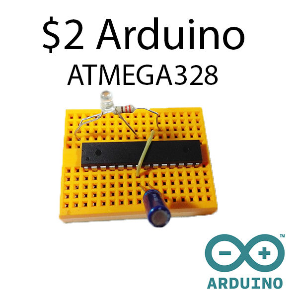 $2 Arduino – ATMEGA328 as a stand-alone
