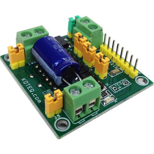 Dual DC Motor Driver For Robot with L298