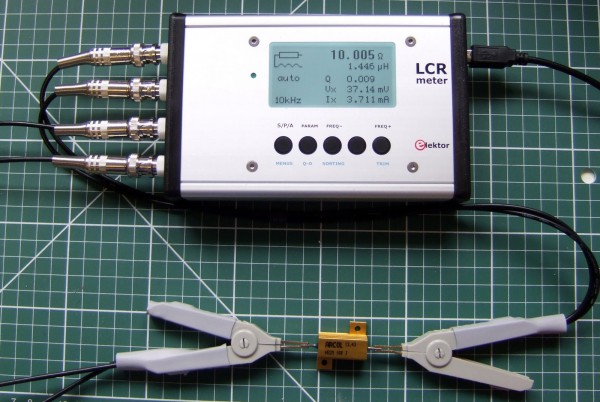 Elektor 500ppm LCR meter case tips