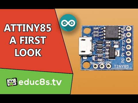 ATTiny85 board A First Look and review