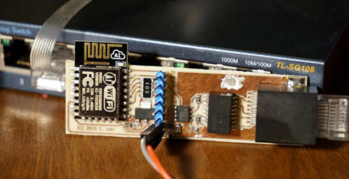 ESP8266 + I2S = Software-based 10-Base-T Ethernet Driver
