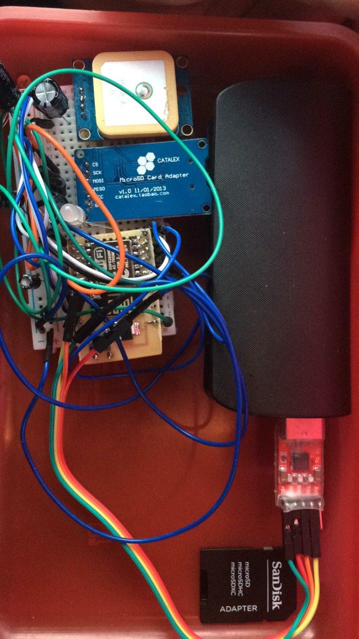 WiGPSFi – ESP8266 + GPS module