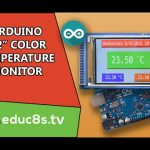 Real time clock and temperature monitor with a DS3231 and a Color TFT
