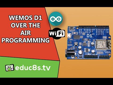WeMOS D1 ESP8266 Over the Air (OTA) update