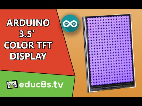3.5″ Color TFT display ILI9481 on Arduino Uno and Mega