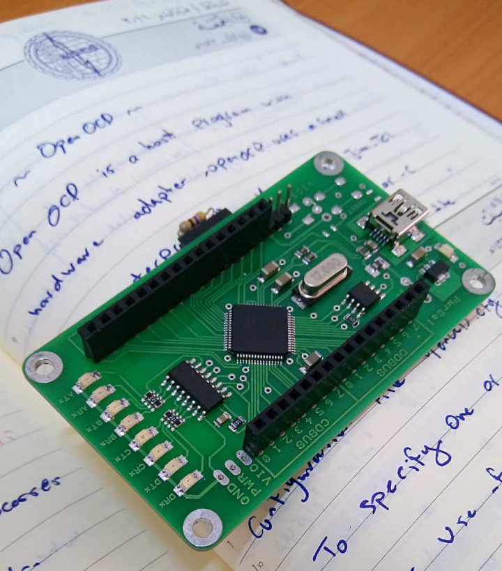 Getting started with openocd using ft h adapter for swd
