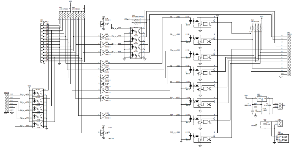 Optically-Isolated-LPT-Breakout-Board-SCH