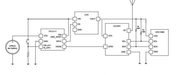 Ultra Low-Power (35nA!) Programmable Timer using TI TPL5111