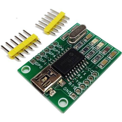 USB to UART Converter with GPIO – MCP220