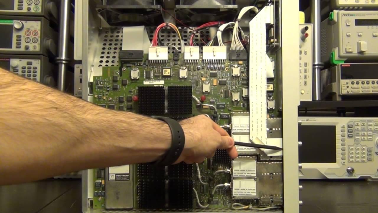Teardown & Repair of an Agilent 54845A 1.5GHz 8GS/s Infinium Oscilloscope
