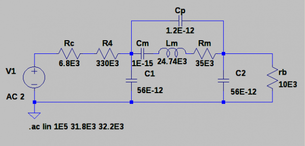 Troubleshooting a 32kHz Crystal Oscillator
