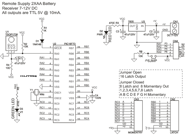 16-Channel-Infra-Red-remote-controller-SCH