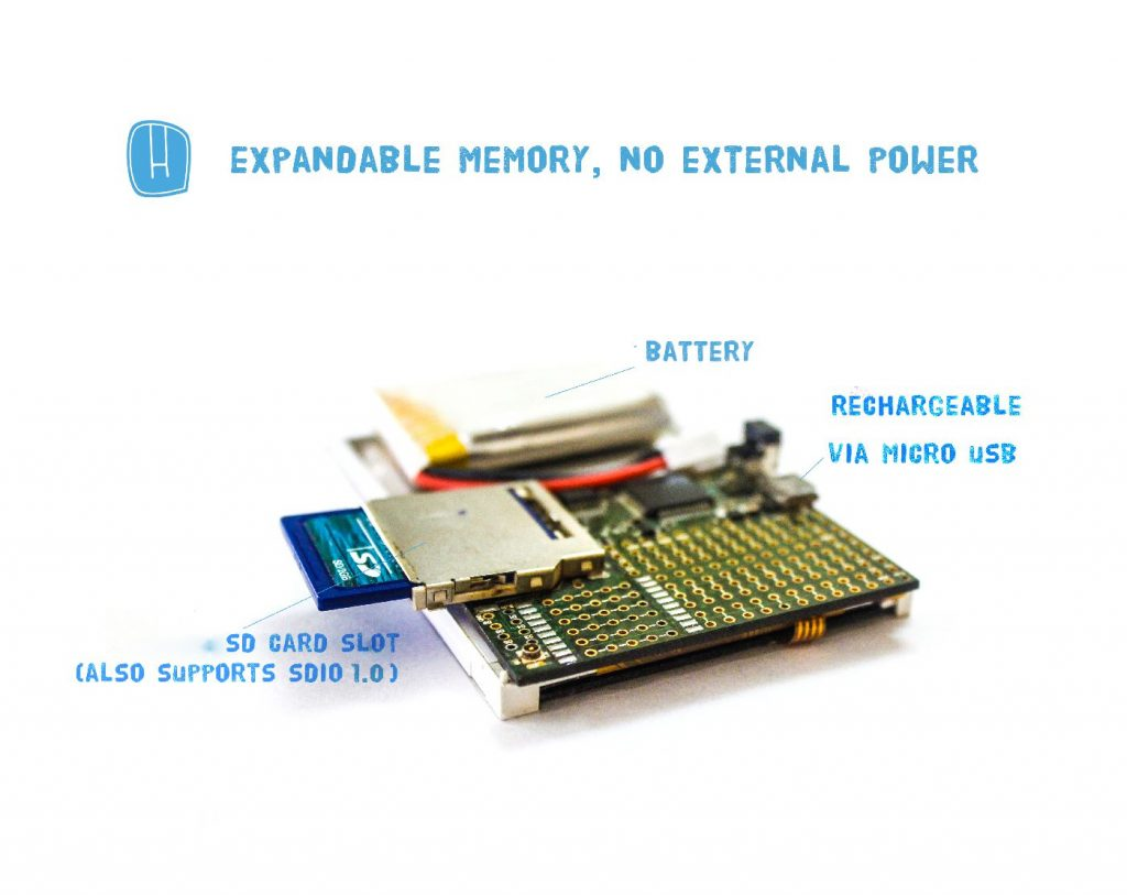 HackPOD - 32 bit ARM Cortex-M4, programmable in Arduino