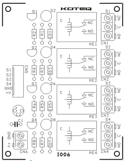 4 channel relay board