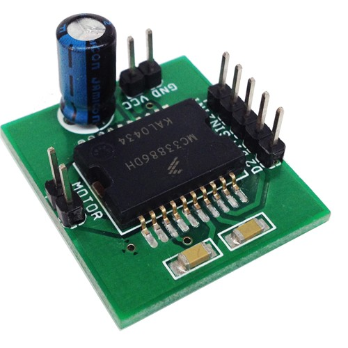 5 Amp H-Bridge DC Motor Driver using MC33886