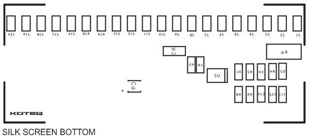 bargraph voltmeter 0-5v dc range - pic16f686