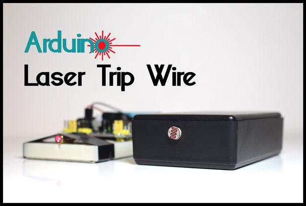 Arduino – Laser Tripwire Alarm System