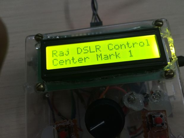 Full featured Arduino DSLR Intervalometer