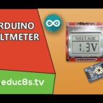 DIY Voltmeter using a simple voltage sensor and Arduino Uno and a Nokia 5110 LCD