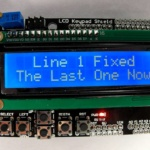 How to Scroll a single LCD line – Arduino