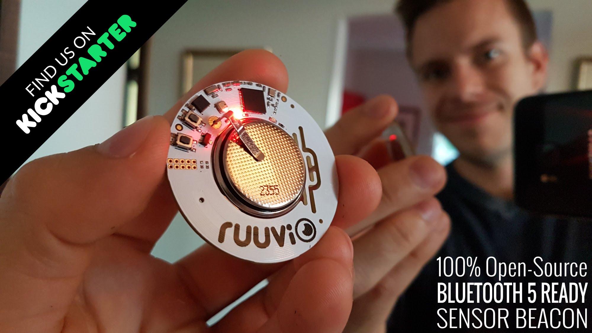 RuuviTag – Open-Source Bluetooth Sensor Beacon